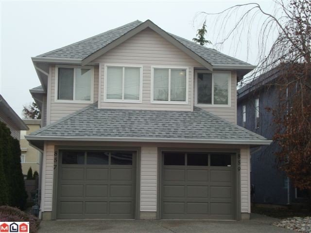 "Main Photo: 859 HABGOOD Street: White Rock 1/2 Duplex for sale in ""EAST BEACH AREA"" (South Surrey White Rock)  : MLS®# F1028235"