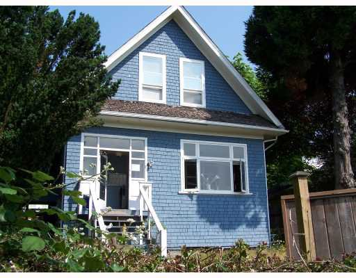 Main Photo: 609 ROBSON Avenue in New_Westminster: Uptown NW House for sale (New Westminster)  : MLS®# V719325