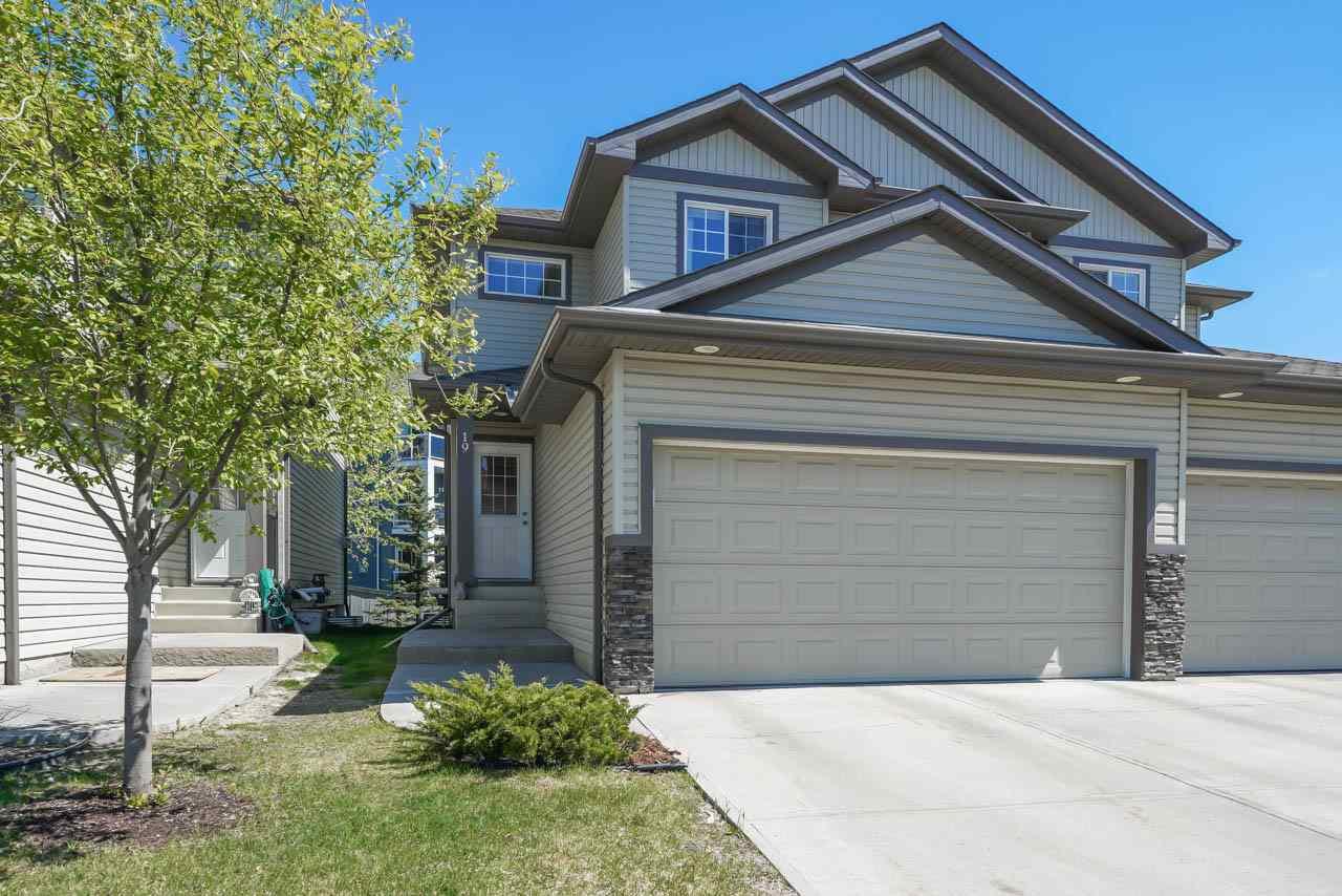Main Photo: 19 16003 132 Street in Edmonton: Zone 27 House Half Duplex for sale : MLS®# E4170757