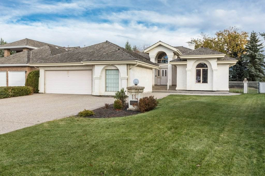 Main Photo: 11 Running Creek Point in Edmonton: Zone 16 House for sale : MLS®# E4178222