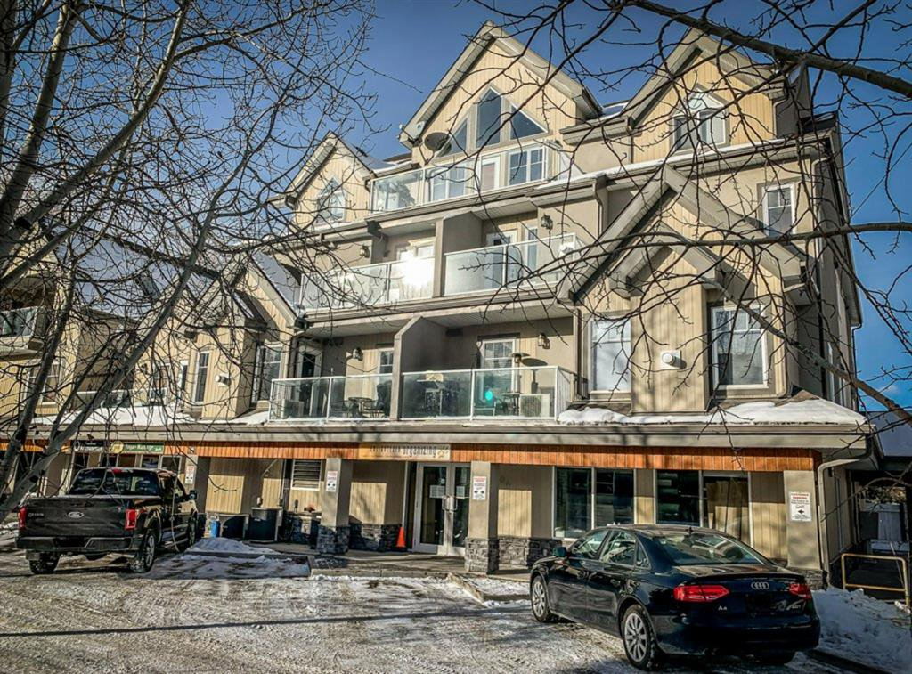Main Photo: 203 999 Bow Valley Trail: Canmore Apartment for sale : MLS®# A1057756