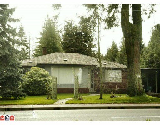 Main Photo: 12752 64TH Avenue in Surrey: Panorama Ridge House for sale : MLS®# F1005156