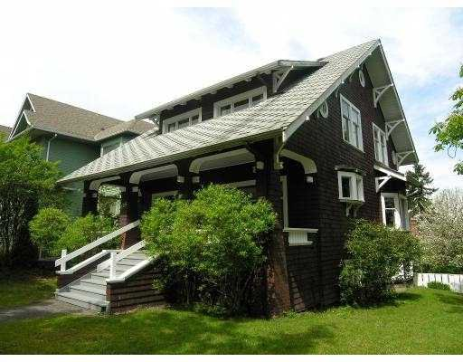 Main Photo: 305 W 13TH AV in Vancouver: Mount Pleasant VW House for sale (Vancouver West)  : MLS®# V589749