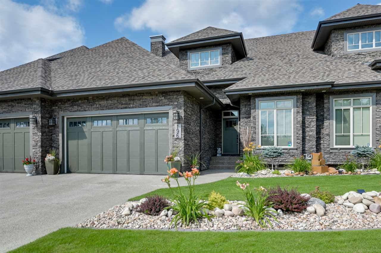 Main Photo: 196 AMBLESIDE Drive in Edmonton: Zone 56 Attached Home for sale : MLS®# E4169165