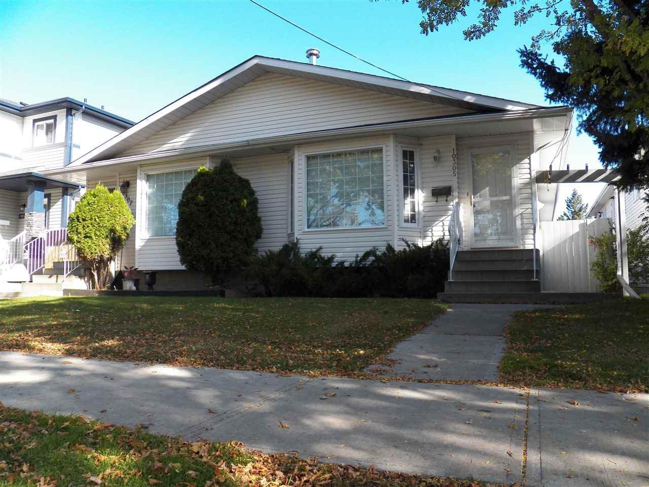 Main Photo: 10305 152 Street in Edmonton: Zone 21 House Half Duplex for sale : MLS®# E4176080
