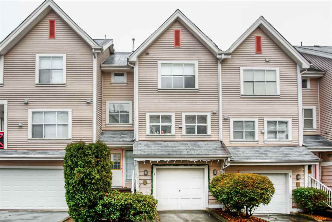 Main Photo: 7 2450 HAWTHORNE Avenue in Port Coquitlam: Central Pt Coquitlam Townhouse for sale : MLS®# R2424534