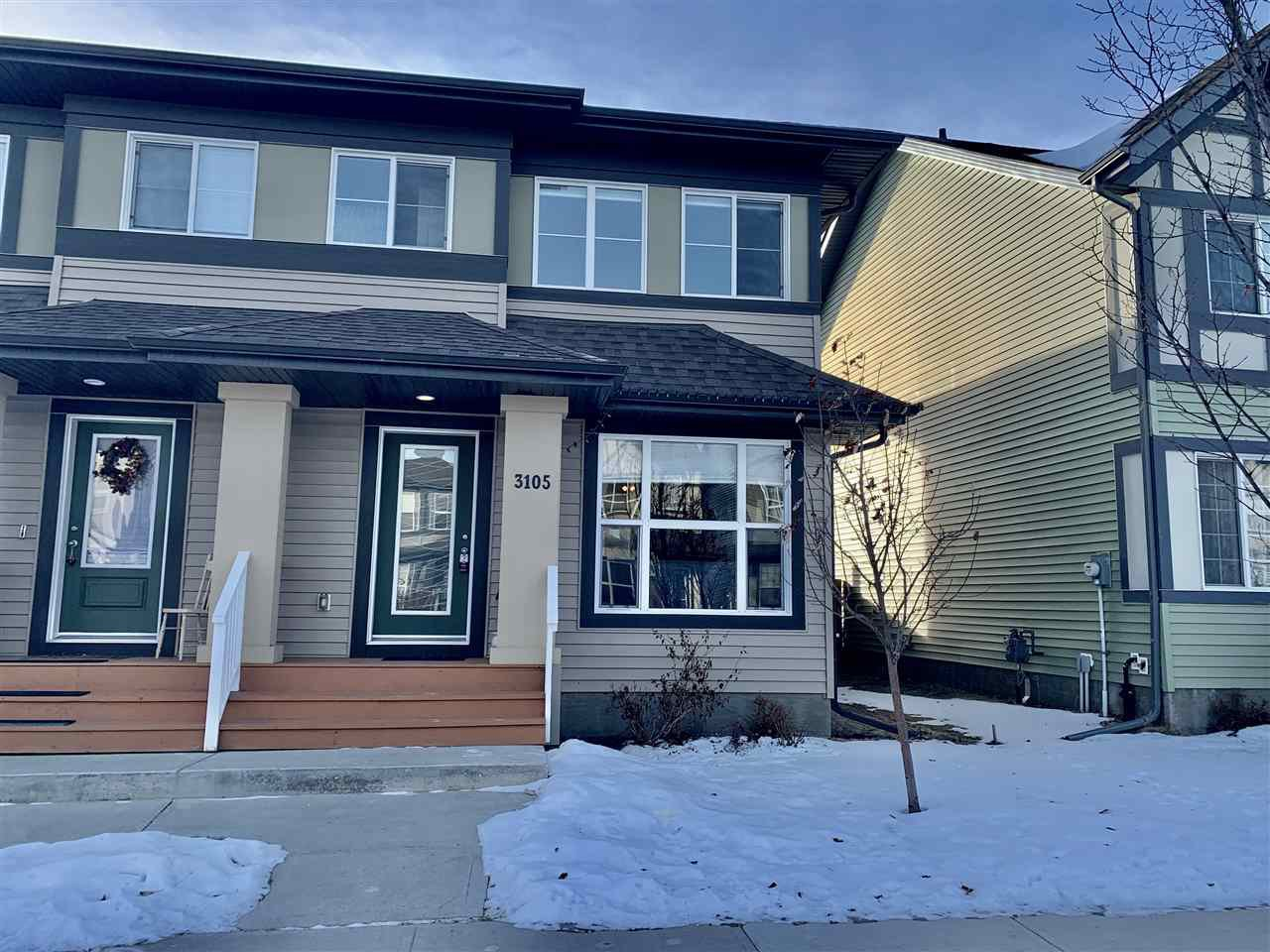 Main Photo:  in Edmonton: Zone 55 House Half Duplex for sale : MLS®# E4224944