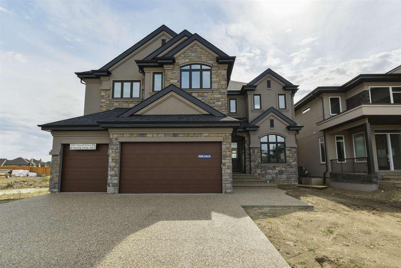 Main Photo: 698 HOWATT Drive in Edmonton: Zone 55 House for sale : MLS®# E4172864