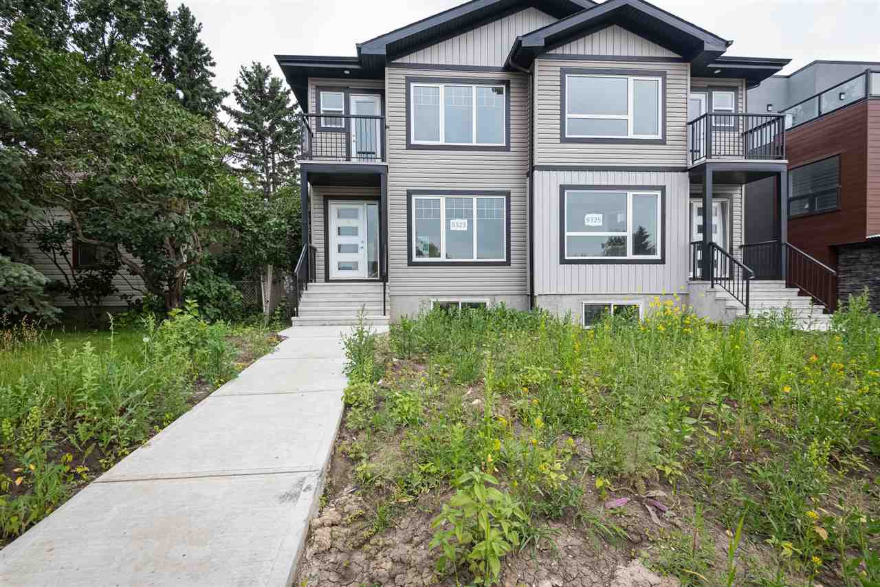 Main Photo: 9325 Connors Road NW in Edmonton: Zone 18 House Half Duplex for sale : MLS®# E4177468