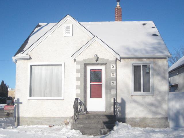 Main Photo: 398 Parr Road in WINNIPEG: North End Residential for sale (North West Winnipeg)  : MLS®# 1002122