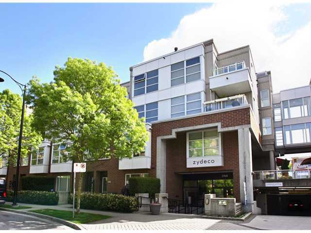 Main Photo: 222 2768 CRANBERRY Drive in Vancouver: Kitsilano Condo for sale (Vancouver West)  : MLS®# V827526