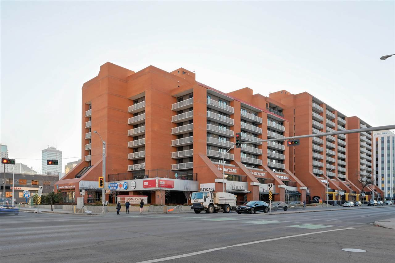 Main Photo: 802 10175 109 Street in Edmonton: Zone 12 Condo for sale : MLS®# E4178810