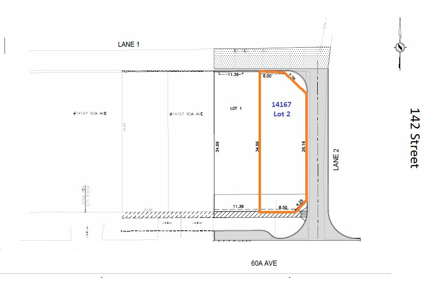 Main Photo: LT.2 14167 60A Avenue in Surrey: Sullivan Station Land for sale : MLS®# R2428100