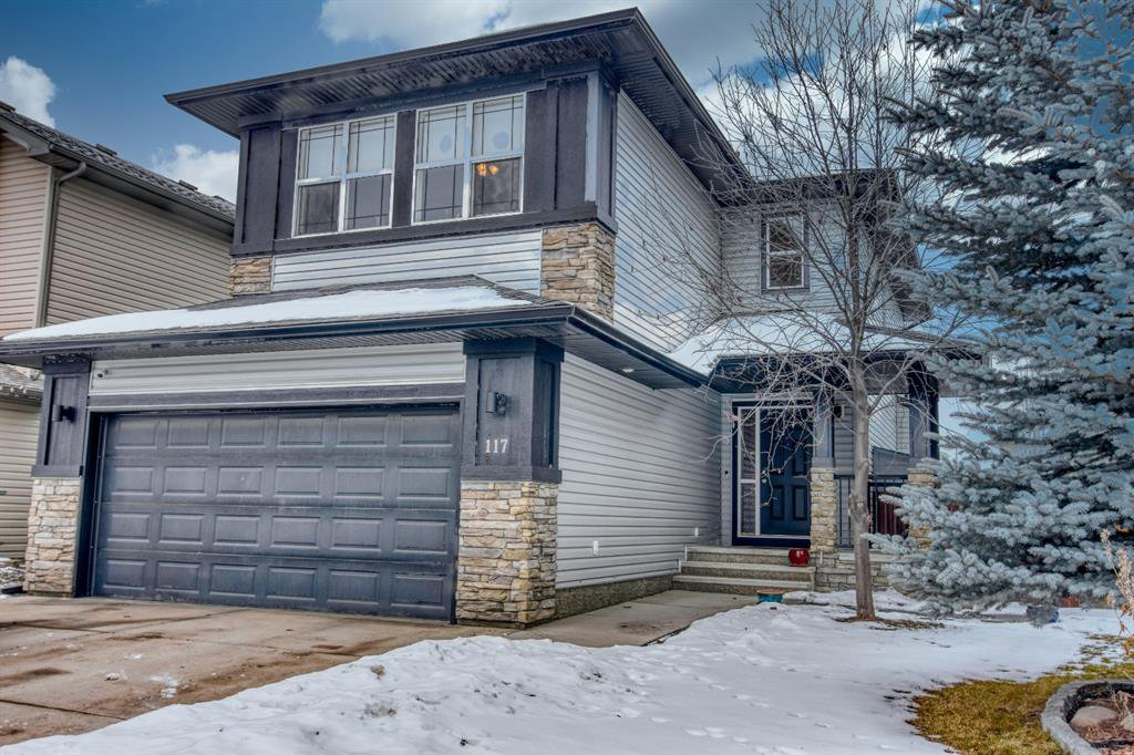 Main Photo: 117 Prairie Springs Crescent SW: Airdrie Detached for sale : MLS®# A1048711