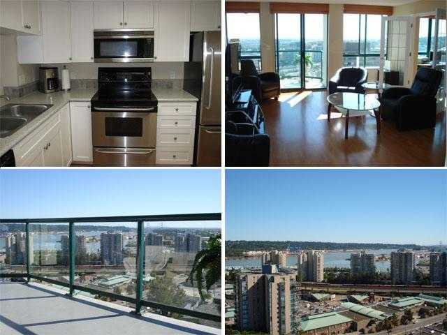 """Main Photo: 1404 121 10TH Street in New Westminster: Uptown NW Condo for sale in """"VISTA ROYALE"""" : MLS®# V842639"""