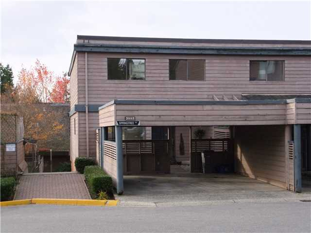"""Main Photo: 3997 SPRINGTREE Drive in Vancouver: Quilchena Townhouse for sale in """"ARBUTUS VILLAGE"""" (Vancouver West)  : MLS®# V858628"""