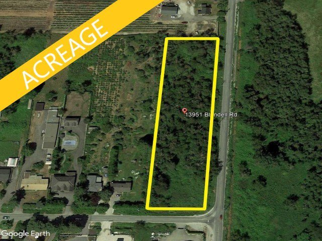 Main Photo: 13951 BLUNDELL Road in Richmond: East Richmond Land for sale : MLS®# R2507752