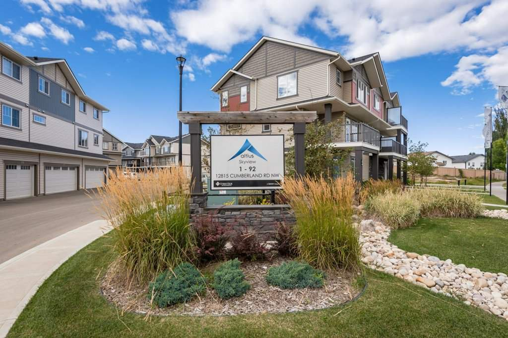 Main Photo: 72 12815 CUMBERLAND Road in Edmonton: Zone 27 Townhouse for sale : MLS®# E4224578