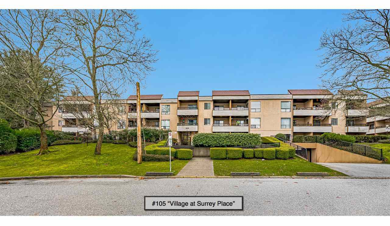 "Main Photo: 105 10221 133A Street in Surrey: Whalley Condo for sale in ""Village at Surrey Place"" (North Surrey)  : MLS®# R2528309"