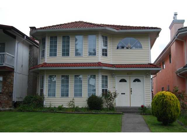 Main Photo: 4411 VENABLES Street in Burnaby: Willingdon Heights House for sale (Burnaby North)  : MLS®# V834773