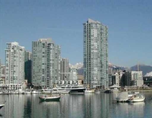 "Main Photo: 803 1067 MARINASIDE CR in Vancouver: False Creek North Condo for sale in ""QUAY WEST TOWER 2"" (Vancouver West)  : MLS®# V572568"