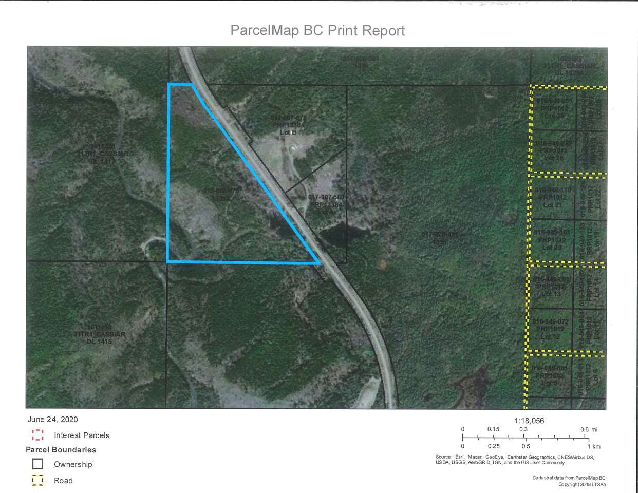 Main Photo: DL 1335A 37 Highway: Kitwanga Land for sale (Smithers And Area (Zone 54))  : MLS®# R2471833
