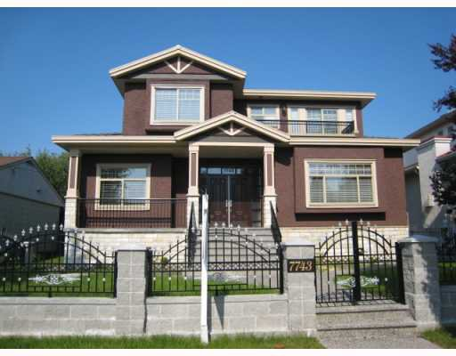 Main Photo: 7743 NANAIMO Street in Vancouver: Fraserview VE House for sale (Vancouver East)  : MLS®# V768691