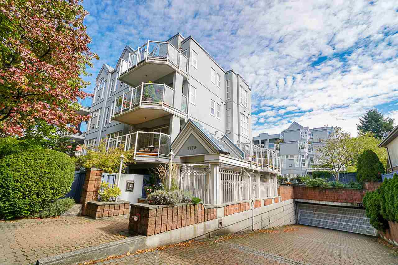 "Main Photo: 103 8728 SW MARINE Drive in Vancouver: Marpole Condo for sale in ""Riverview Court"" (Vancouver West)  : MLS®# R2410675"