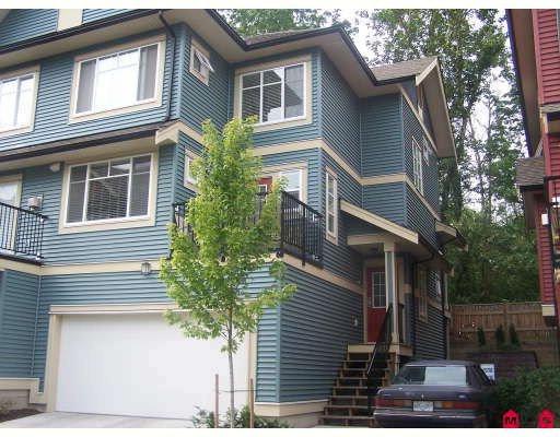 "Main Photo: 18 6635 192ND Street in Surrey: Clayton Townhouse for sale in ""Leafside Lane"" (Cloverdale)  : MLS®# F2820322"