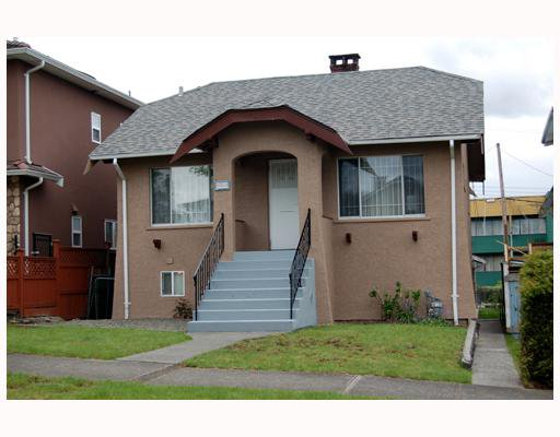 Main Photo: 3450 FRANKLIN Street in Vancouver: Hastings East House for sale (Vancouver East)  : MLS®# V765835