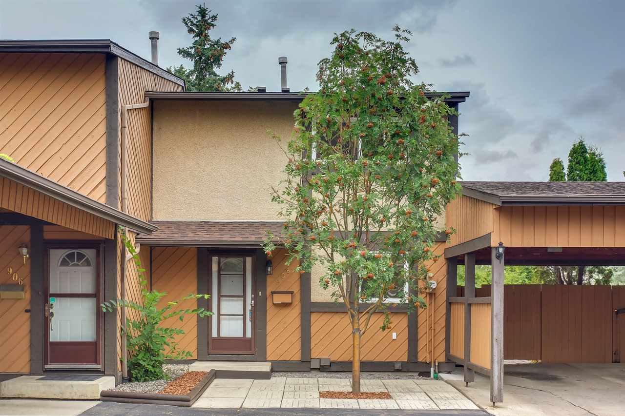 Main Photo: 908 MILLBOURNE Road E in Edmonton: Zone 29 Townhouse for sale : MLS®# E4168618