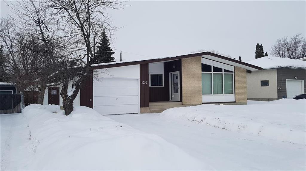 Main Photo: 1030 Roch Street in Winnipeg: Residential for sale (3F)  : MLS®# 202003493
