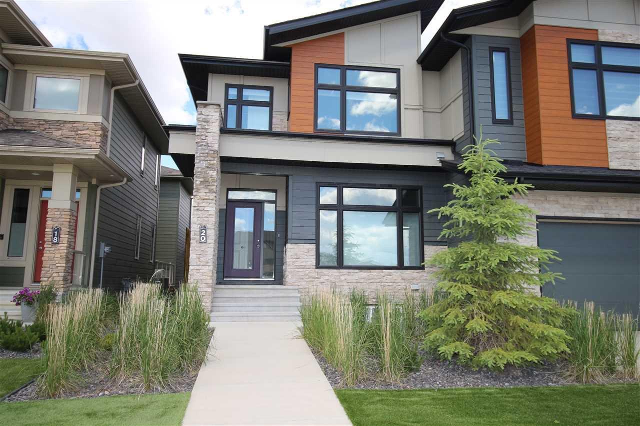 Main Photo: 20 FOSBURY Link: Sherwood Park House Half Duplex for sale : MLS®# E4202219