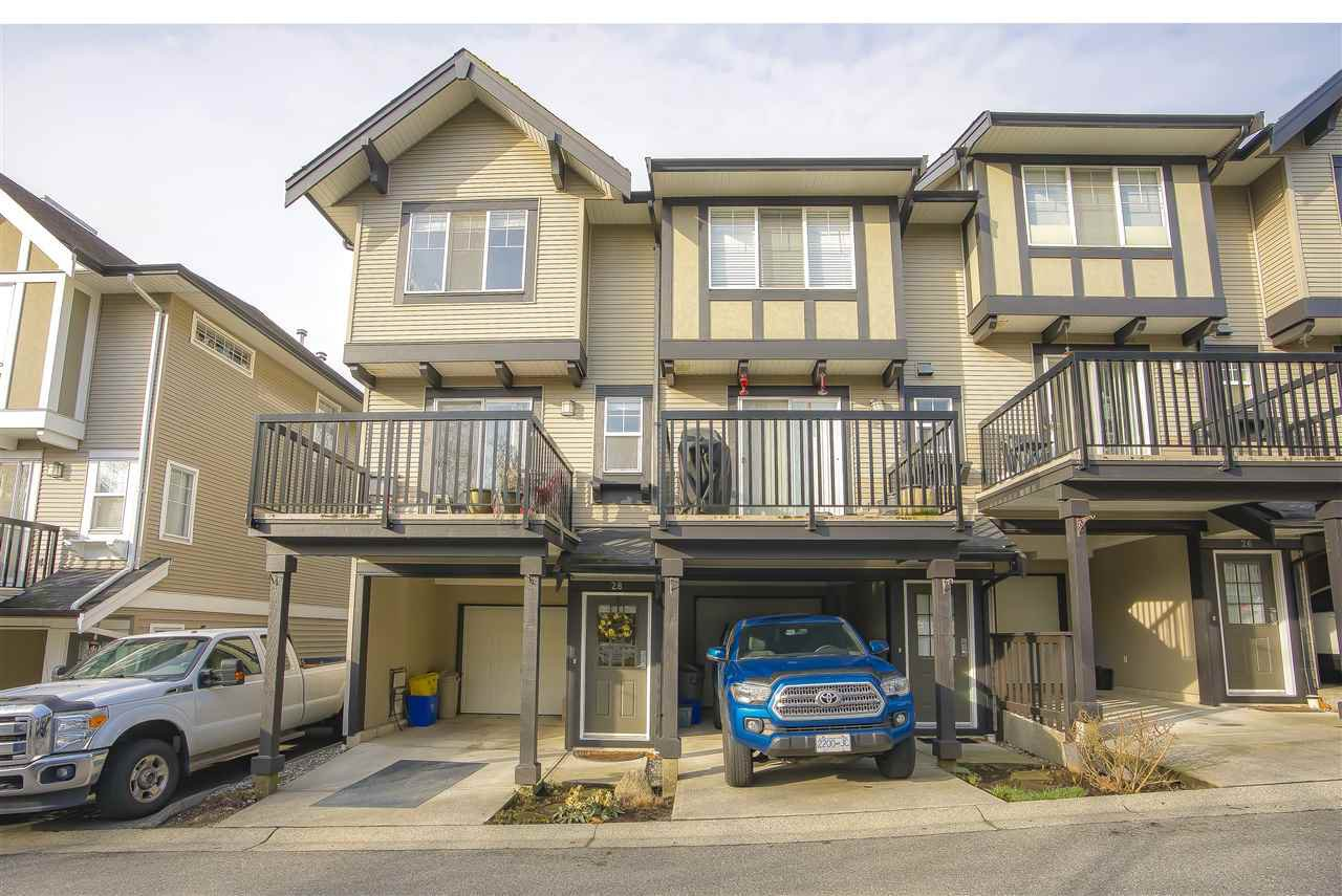 Main Photo: 28 20176 68 AVENUE in Langley: Willoughby Heights Townhouse for sale : MLS®# R2432776