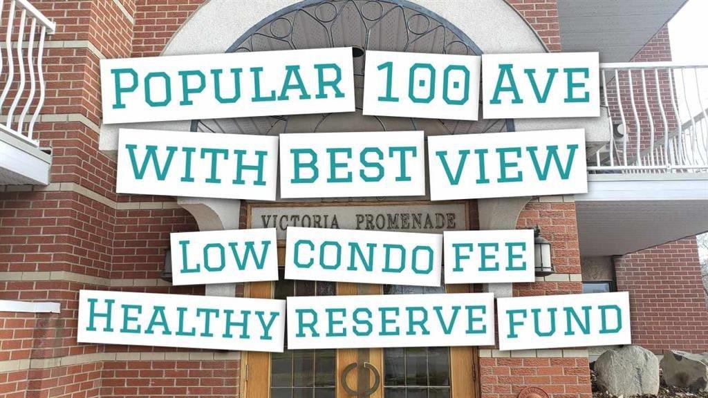 Main Photo: 316 11716 100 Avenue in Edmonton: Zone 12 Condo for sale : MLS®# E4213810