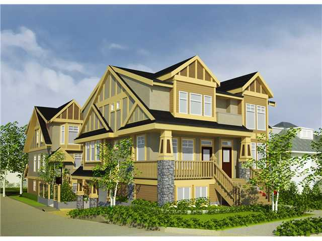 """Main Photo: 1670 E 5TH Avenue in Vancouver: Grandview VE Townhouse for sale in """"JOURNEY"""" (Vancouver East)  : MLS®# V855200"""