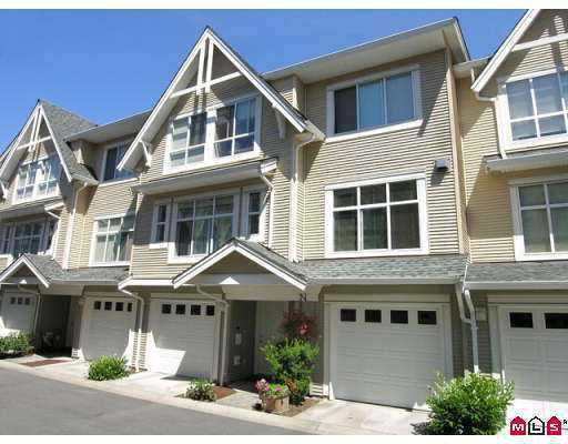 "Main Photo: 49 6450 199TH ST in Langley: Willoughby Heights Townhouse for sale in ""LOGAN'S LANDING"" : MLS®# F2616663"