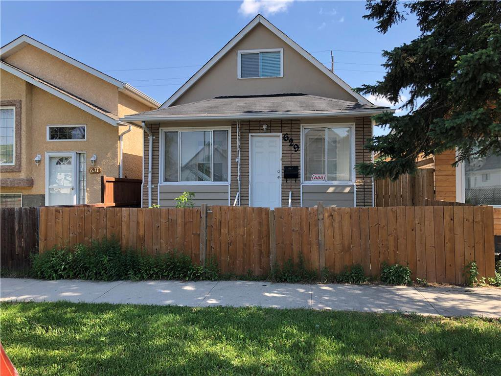 Main Photo: 629 Aberdeen Avenue in Winnipeg: North End Residential for sale (4A)  : MLS®# 202027586