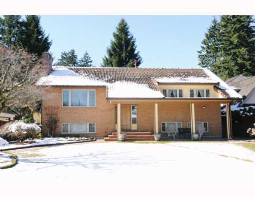 Main Photo: 978 MACINTOSH Street in Coquitlam: Harbour Chines House for sale : MLS®# V755998