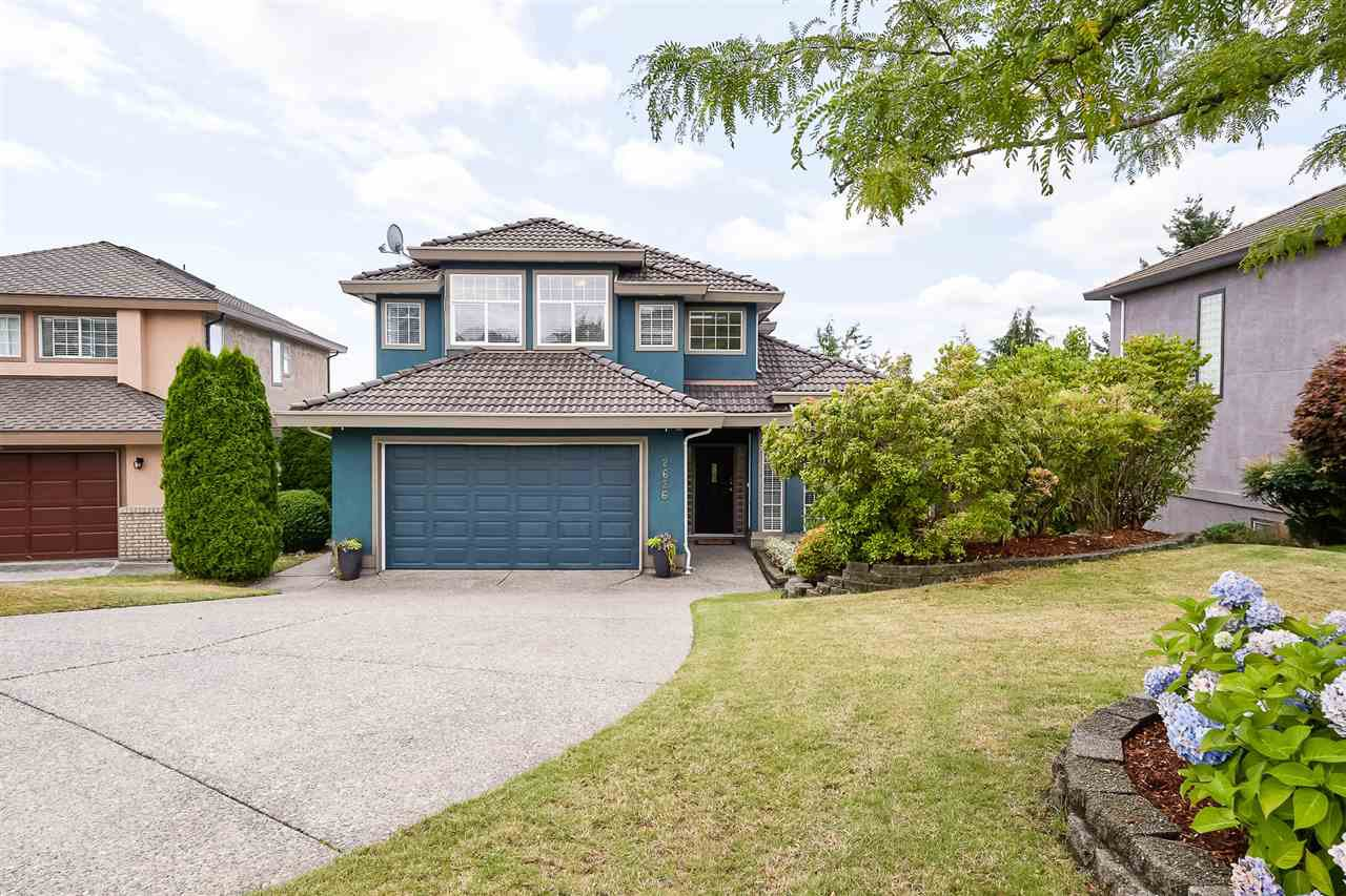 Main Photo: 2626 MARBLE Court in Coquitlam: Westwood Plateau House for sale : MLS®# R2401709