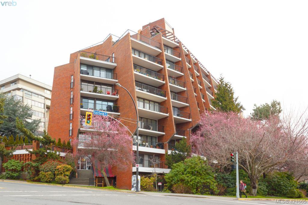 Main Photo: 304 777 Blanshard St in VICTORIA: Vi Downtown Condo Apartment for sale (Victoria)  : MLS®# 834512