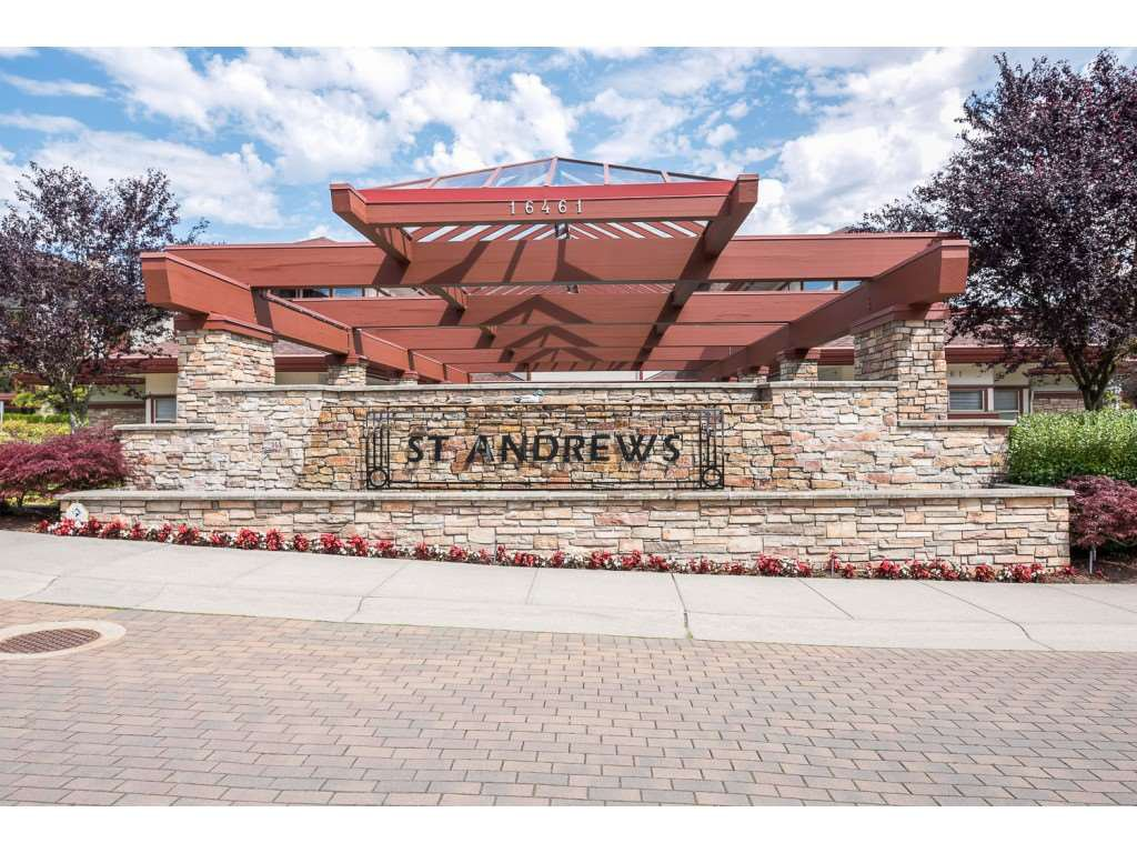 """Main Photo: 310 16421 64 Avenue in Surrey: Cloverdale BC Condo for sale in """"ST. ANDREWS"""" (Cloverdale)  : MLS®# R2525380"""