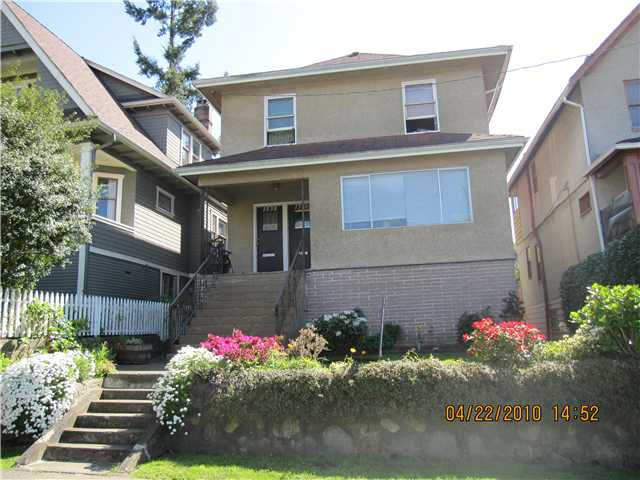 Main Photo: 1536 E 13TH Avenue in Vancouver: Grandview VE House for sale (Vancouver East)  : MLS®# V825354