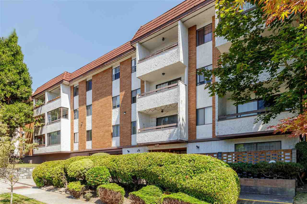 """Main Photo: 111 515 ELEVENTH Street in New Westminster: Uptown NW Condo for sale in """"MAGNOLIA PLACE"""" : MLS®# R2391401"""