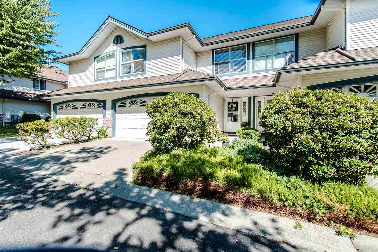 "Main Photo: 11 7250 122 Street in Surrey: West Newton Townhouse for sale in ""Strawberry Hills Estates"" : MLS®# R2485331"