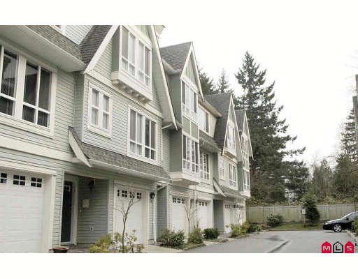 """Main Photo: 25 16388 85TH Avenue in Surrey: Fleetwood Tynehead Townhouse for sale in """"CAMELOT"""" : MLS®# F2833369"""