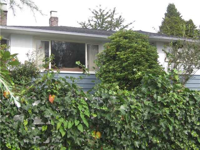 Main Photo: 1129 KINGS Avenue in West Vancouver: Ambleside House for sale : MLS®# V851205
