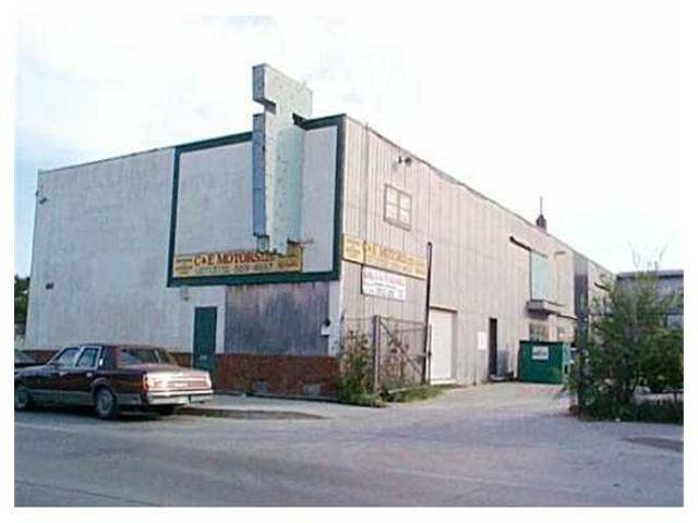 Main Photo: 618 DUFFERIN Avenue in WINNIPEG: North End Industrial / Commercial / Investment for sale (North West Winnipeg)  : MLS®# 2113263