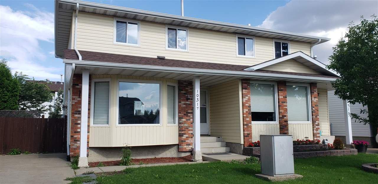 Main Photo: 10317 172 Avenue in Edmonton: Zone 27 House Half Duplex for sale : MLS®# E4169498