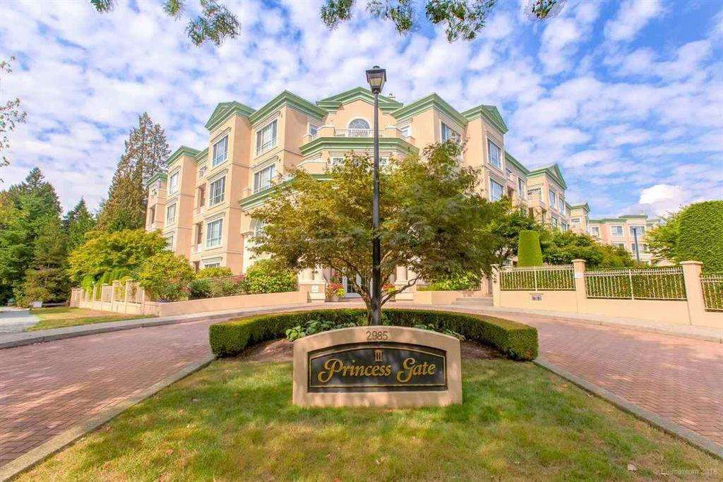 "Main Photo: 407 2985 PRINCESS Crescent in Coquitlam: Canyon Springs Condo for sale in ""PRINCESS GATE"" : MLS®# R2441436"